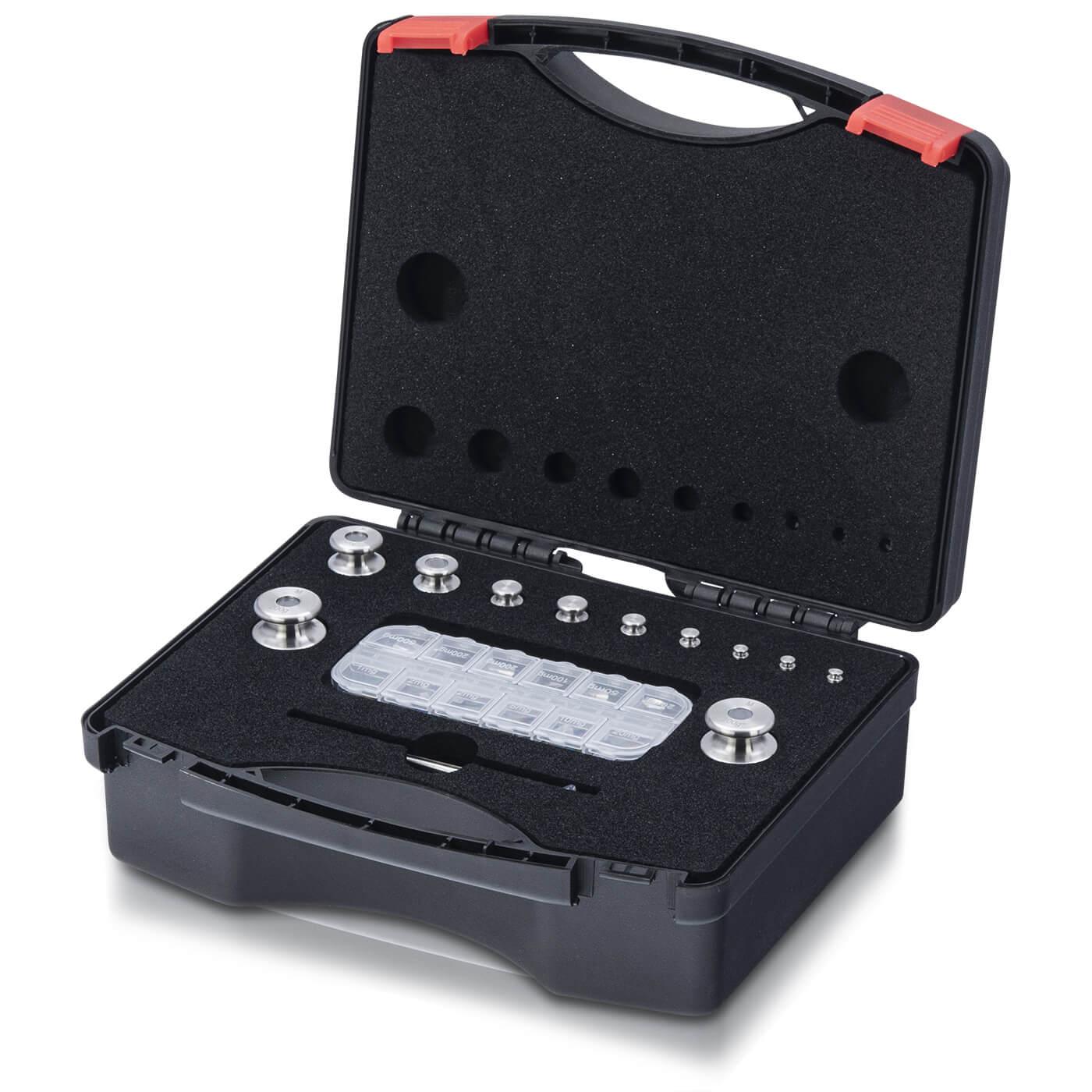 M1 Gewichtsatz 1 mg - 200 g im Kunststoffkoffer