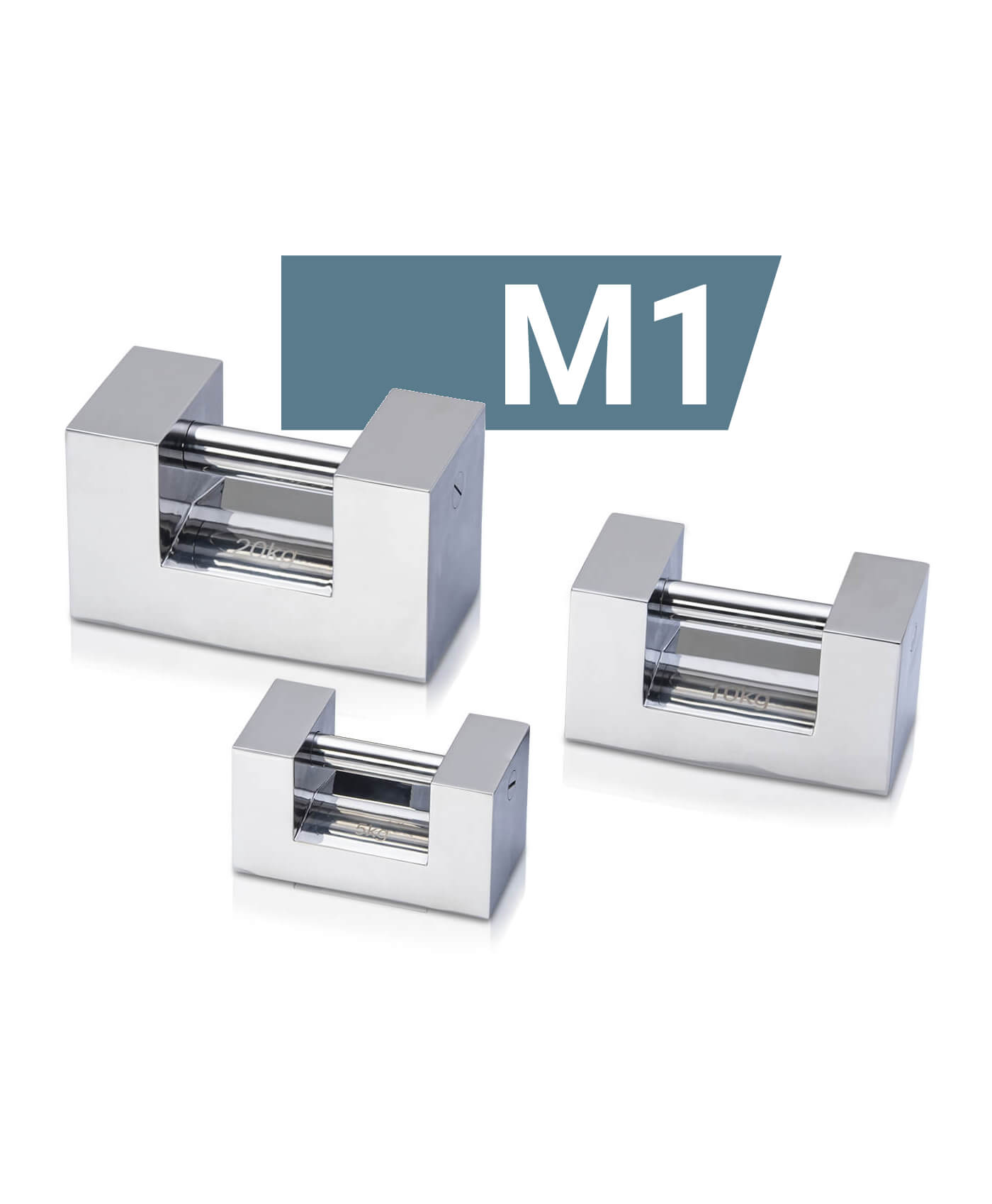 M1 stainless steel block weights