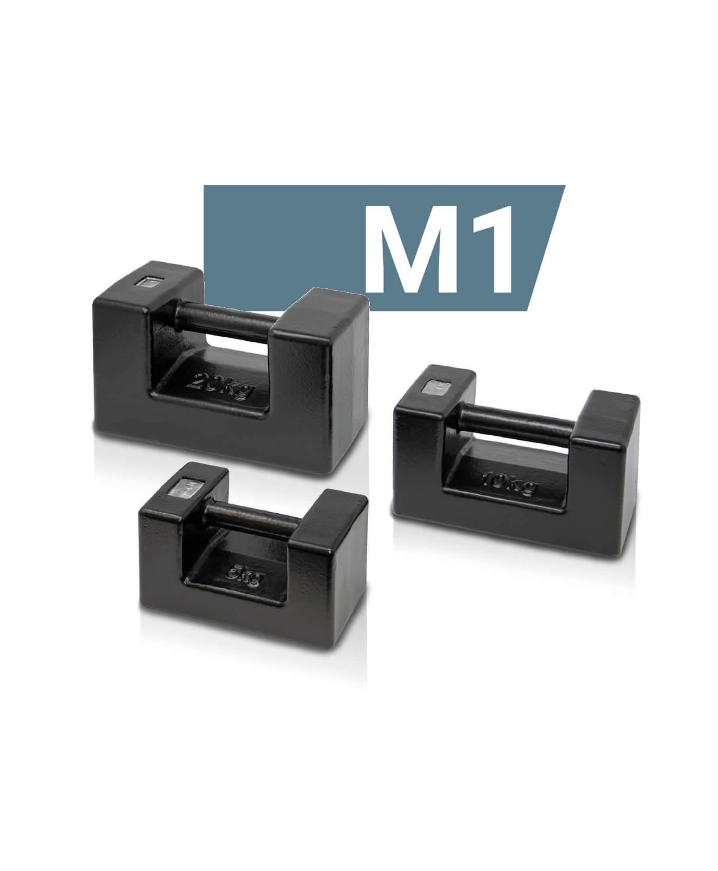 M1 Blockgewichte aus Gusseisen