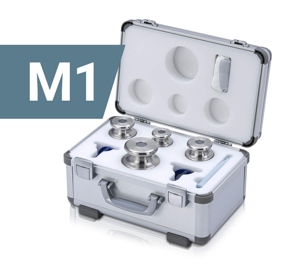 M1 Gewichtssatz im Alukoffer