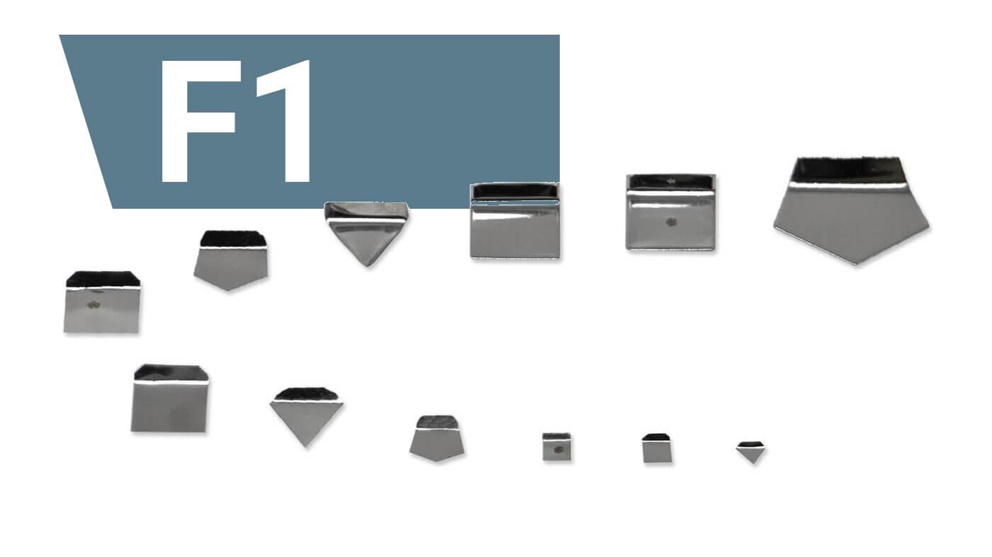 F1 Milligrammgewichte